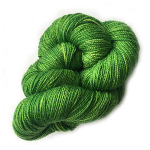 Done Roving Yarn - Frolicking Feet - Clover Leaf - in a ball