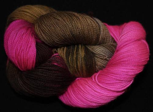 Done Roving Yarn - Frolicking Feet - Coneflower