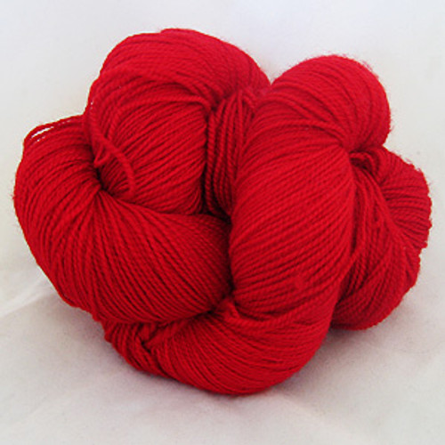 Frolicking Feet Crazy for Crimson 100% SUPERWASH Sock Wool 480 yards