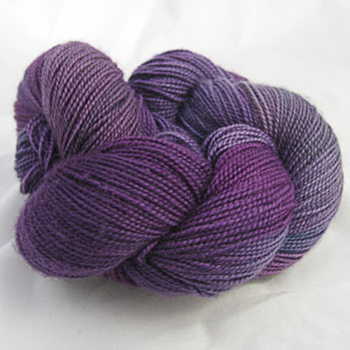 Frolicking Feet Plum Pretty 100% SUPERWASH Sock Wool 480 yards