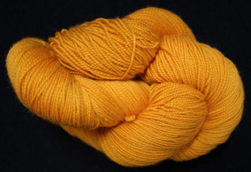 Done Roving Yarn - Frolicking Feet - Pumpkin