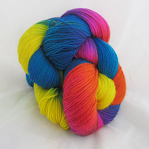 Frolicking Feet Street Party 100% SUPERWASH Sock Wool 480 yards