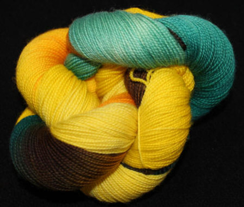 Frolicking Feet Sunflower 100% SUPERWASH Sock Wool 480 yards