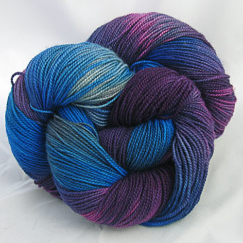 Frolicking Feet Wild Blue Yonder 100% SUPERWASH Sock Wool 480 yards