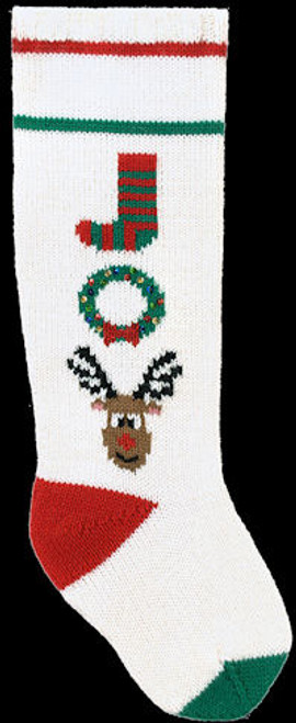 Googleheim Joy on White Stocking