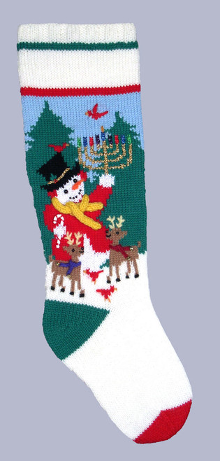 Googleheim Snowbird/Menorah Stocking Kit