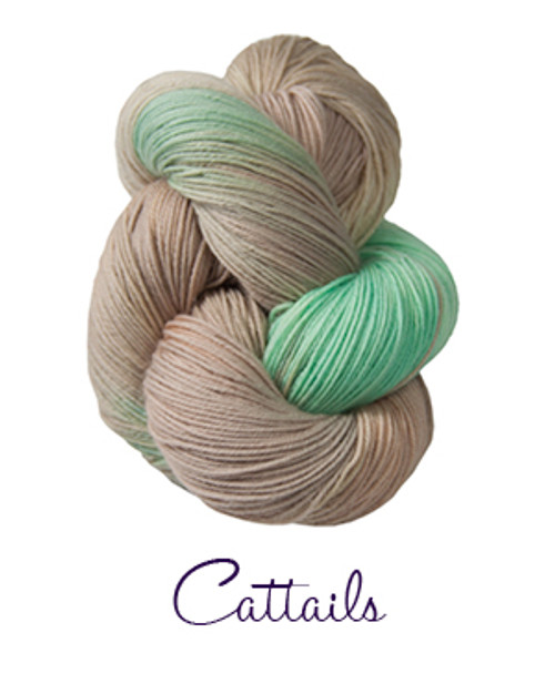 Lorna's Laces Shepherd Sock - Cattails