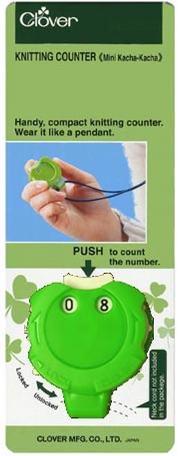 Clover Mini Kacha-Kacha Counter (GREEN) #3118