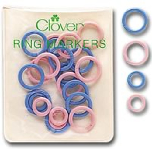 Clover Small Ring Markers (package of 30) #329