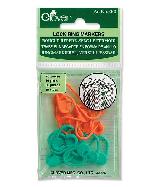 Clover Locking Stitch Markers #353