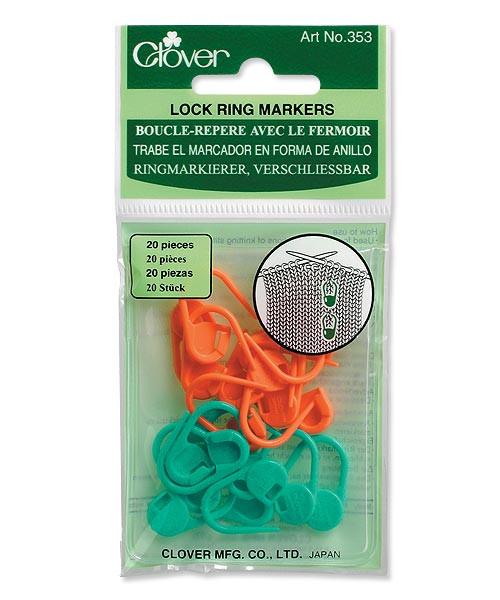 Clover Locking Stitch Markers #353
