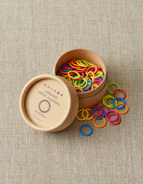 CocoKnits Colored Stitch Markers (set of 60)