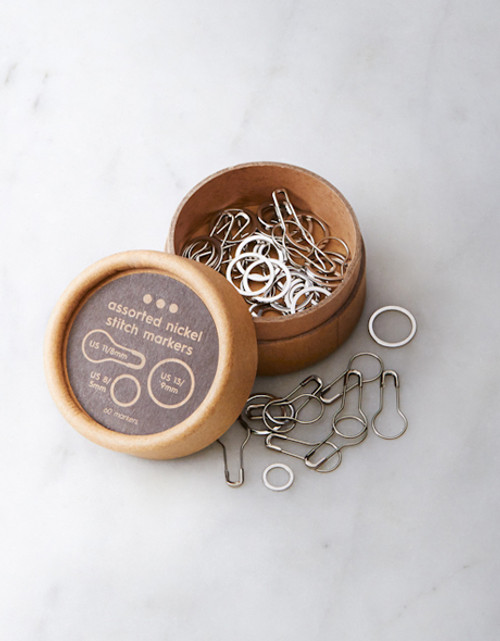CocoKnits Assorted Nickel Stitch Markers