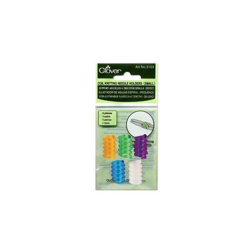 Clover Small Coil Knitting Needle Holder (set of 5) #3123