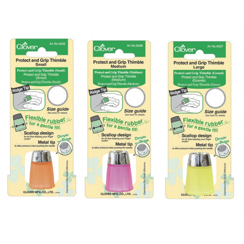 Clover Protect and Grip Thimble - Large #6027