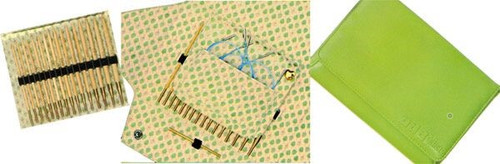 addi Click Bamboo Interchangeables Needle Set