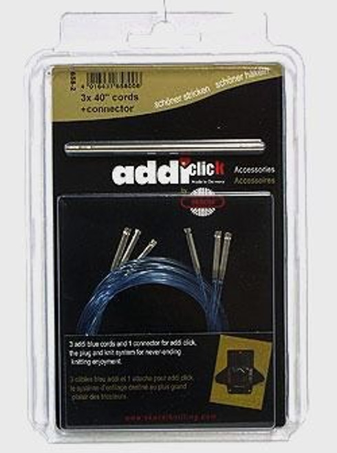"addi Click 40"" Cord Set of 3 + connector"