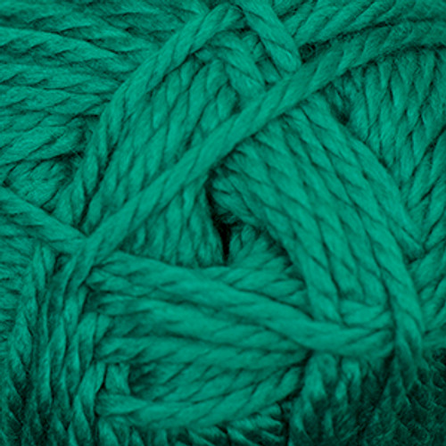 Cascade Pacific Chunky Wool Blend Yarn - 120 Bright Shamrock