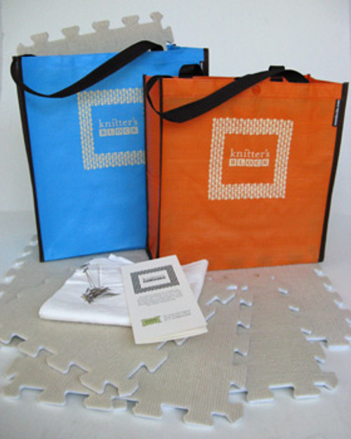 Great sturdy jute bag will hold all your Cocoknits blocking supplies plus a few more.