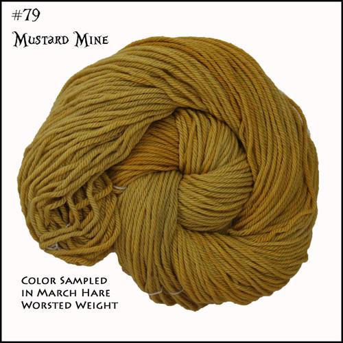Frabjous Fibers: Wonderland Yarns - March Hare - Mustard Mine 79