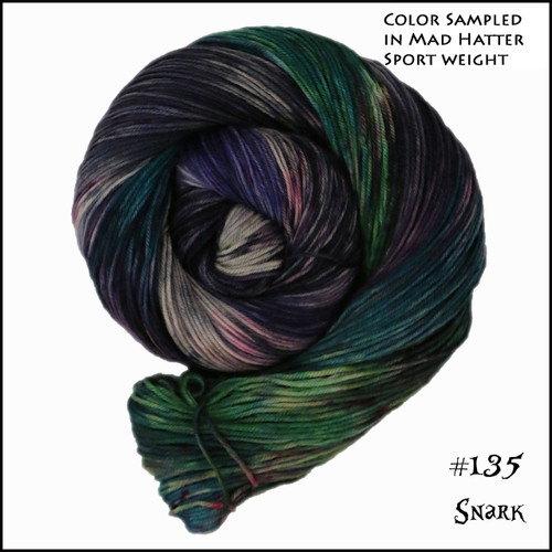 Frabjous Fibers: Wonderland Yarns - March Hare -  Snark 135
