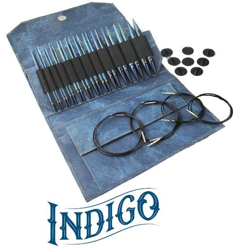 Lykke Driftwood Interchangeable Needles - Indigo