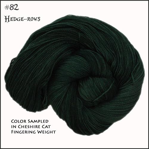 Frabjous Fiber: Wonderland Yarns - Cheshire Cat - Hedge Rows 82