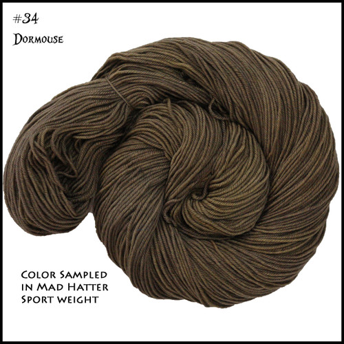 Frabjous Fiber: Wonderland Yarns - Cheshire Cat - Dormouse 34