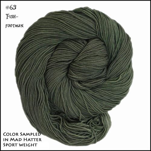 Frabjous Fiber: Wonderland Yarns - Cheshire Cat - Fish Footman 63