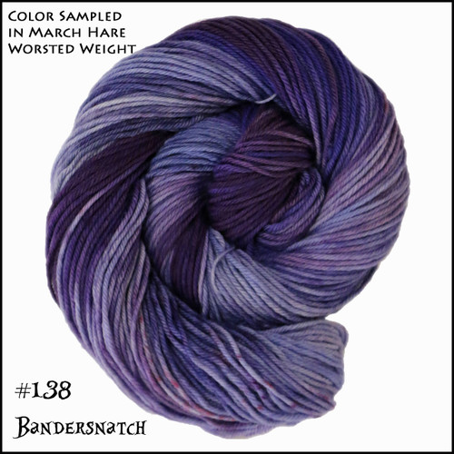 Frabjous Fibers: Wonderland Yarns - Cheshire Cat - Bandrsnatch 138