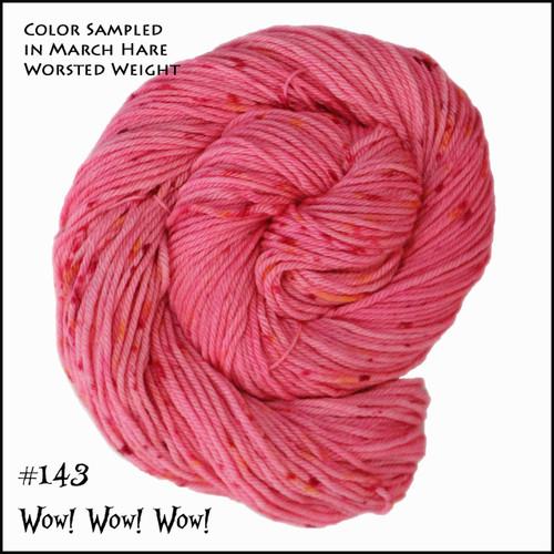 Frabjous Fibers: Wonderland Yarns - Cheshire Cat - Wow! Wow! Wow! 143