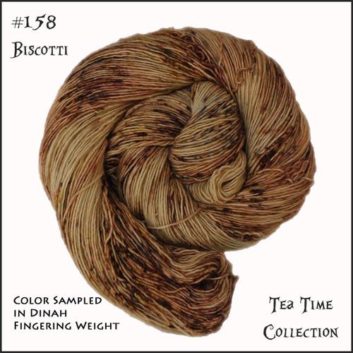 Frabjous Fibers: Wonderland Yarns - Cheshire Cat - Biscotti 158