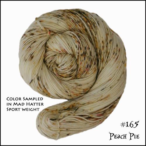 Frabjous Fibers: Wonderland Yarns - Cheshire Cat - Peach Pie 165