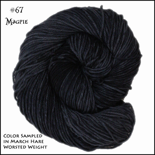 Frabjous Fibers: Wonderland Yarns - Queen of Hearts - Magpie 67