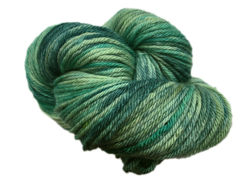 Wonderland Yarns - March  Hare - Year of Color - Birthstones #173 Emerald