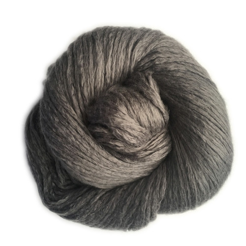 Soft pure medium to medium dark grey.  No hints of pink, white, blue or green.