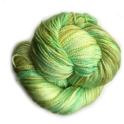 Frabjous Fibers: Wonderland Yarns - Cheshire Cat - Peridot 176