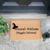 Wizards Welcome, Muggles Tolerated Doormat