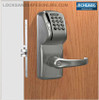 Schlage AD-300-MS-MSK (Magnetic Stripe - Swipe + Keypad) Electronic Mortise Locks