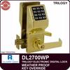 Alarm Lock DL2700WP Weatherproof Door Lock | Alarm Lock DL2700WP Cylindrical Lock