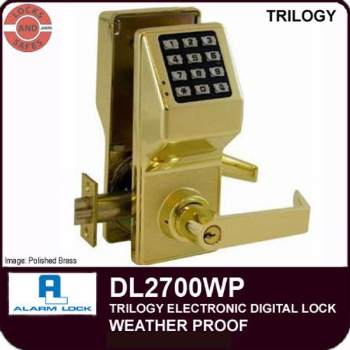 Alarm Lock DL2700WP Weatherproof Door Lock | Alarm Lock DL2700WPIC Weatherproof Interchangeable Core Lock