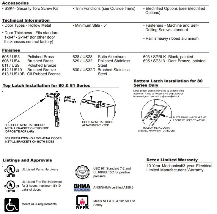 Advantex 81 Technical Info