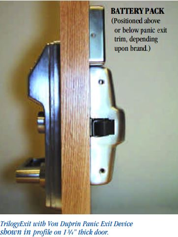 Alarm Lock ETPDL Additional Info | Alarm Lock Exit Trim Lock Additional Info