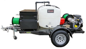 58 Series Trailer Jetter 740 - 27 HP, 7 GPM, 4000 PSI