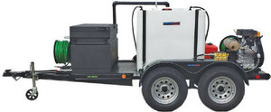 51T Series Trailer Jetter 1725 - 37 HP, 17 GPM, 2500 PSI, 330 Gallon