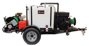 583 Series Trailer Jetter 8540 - 32.5 HP, 8.5 GPM, 4000 PSI, 330 Gallon
