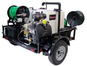 55 Series Diesel Trailer Jetter 430 - 9.8HP, 4 GPM, 3000 PSI
