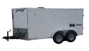 61CT Tandem Axle Cargo Trailer Jetter 2030 - 54 HP, 20 GPM, 3000 PSI, 330 Gallon