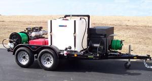 51T Series Trailer Jetter 650 - 32.5 HP, 6 GPM, 5000 PSI, 330 Gallon