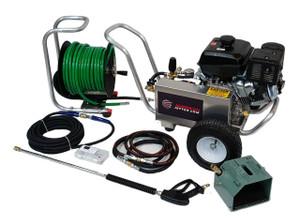 AJ Cart 440R - 14 HP, 4 GPM, 4000 PSI, Garden Hose Inlet